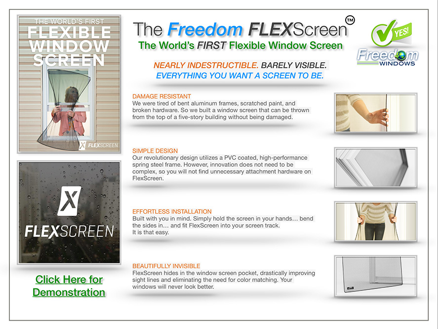Flex Screen in Columbus & Surrounding Areas