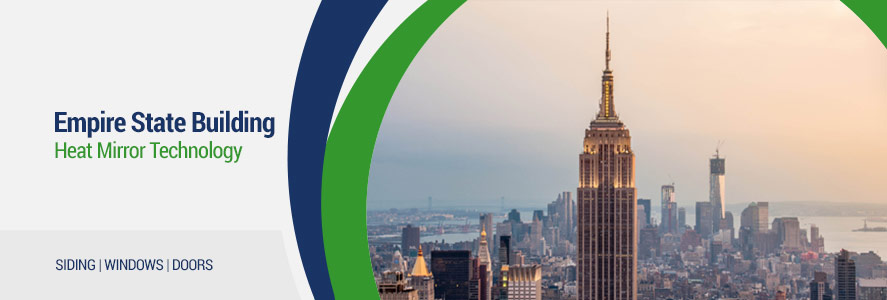 Empire State Building becomes more energy efficient utilizing Heat Mirror® Film Technology