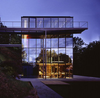 sustainable glass house