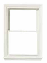 Double Hung Window Plane