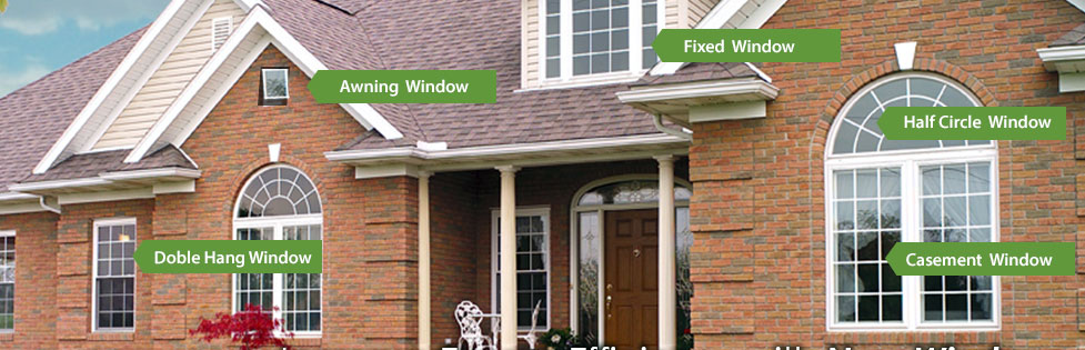 Types of Windows we Offer in Columbus, Ohio