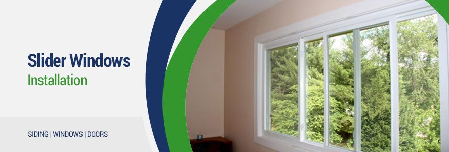 Slider Windows Installation in Columbus & Surrounding Areas